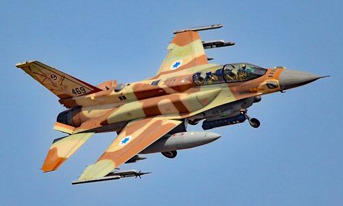 Một tiêm kích của lực lượng không quân Israel. Ảnh:Military.