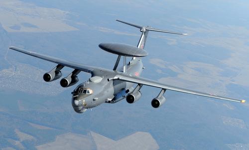 Máy bay cảnh báo sớm A-50U trước khi được triển khai tới Syria. Ảnh: RBTH.