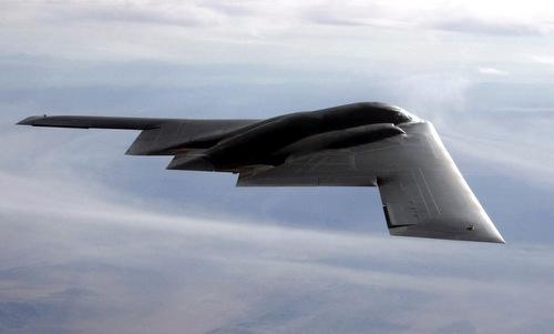 Oanh tạc cơ tàng hình B-2 Spirit của Mỹ. Ảnh: USAF.