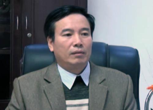 Ông Hồ Đức Hợp, Giám đốc Sở Tài nguyên và Môi trường tỉnh Yên Bái. Ảnh: PV