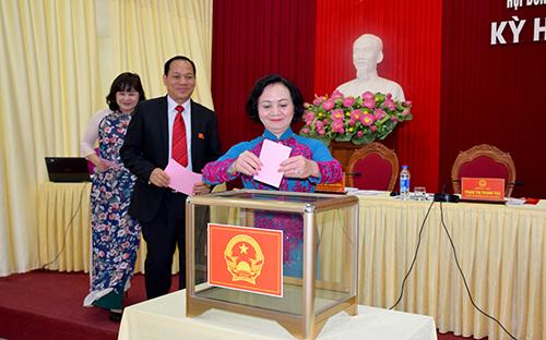 Ông Hồ Đức Hợp được bầu làm Giám đốc Sở TN-MT tỉnh Yên Bái