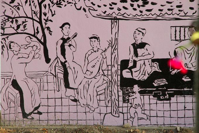 Con đường bích họa Truyện Kiều ở Hà Tĩnh
