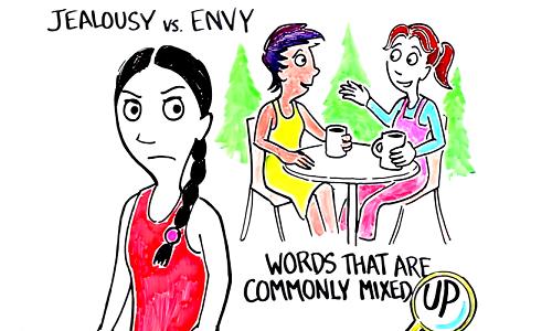 Phân biệt 'jealousy' và 'envy'