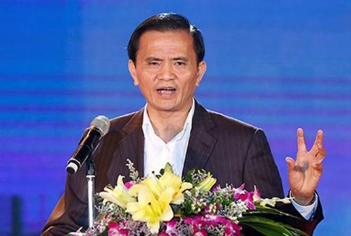 Ông Ngô Văn Tuấn lúc còn đương chức. Ảnh: Lam Sơn.