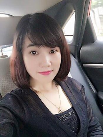 Nguyễn Thị Lam trước lúc bị bắt.