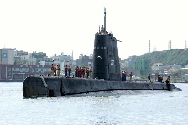 Tàu ngầm Đài Loan. Ảnh: TaiwanNews.