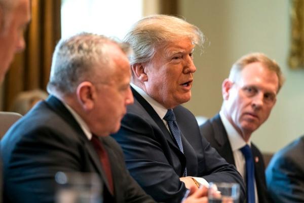 Tổng thống Mỹ Donald Trump hôm 9/4 phát biểu trước truyền thông tại Nhà Trắng. Ảnh: AFP.