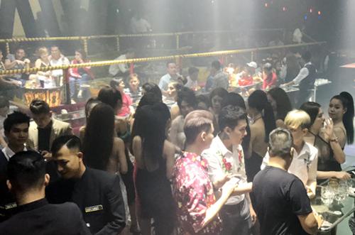 Ngành chức năng xác định đa số vũ trường, nhà hàng karaoke... luôn tiềm ẩn tội phạm, tệ nạn xã hội. Ảnh: Quốc Thắng.