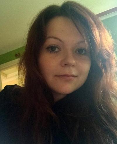 Yulia Skripal, con gái Sergei Skripal. Ảnh: Reuters.