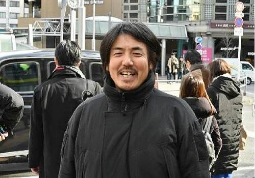 Takanobu Nishimoto, người sáng lập Ossan Rental. Ảnh: Japan Times.