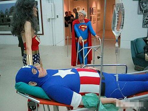Khi các siêu anh hùng về già.