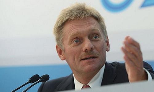 Phát ngôn viên điện Kremlin Dmitry Peskov. Ảnh: AFP.