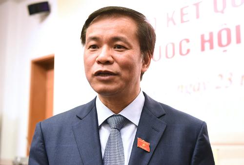 Tổng thư ký Quốc hội Nguyễn Hạnh Phúc đề nghị phải có cơ quan độc lập xác minh bản khai tài sản, thu nhập cán bộ. Ảnh: Giang Huy
