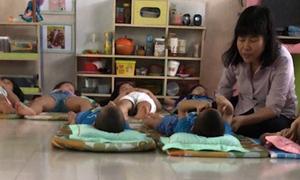 Cô giáo đánh trẻ trong giờ ngủ ở TP HCM bị đình chỉ công tác