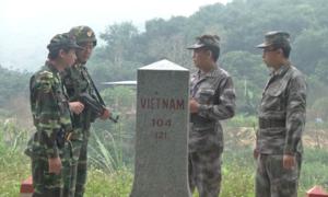 Lần đầu biên phòng Việt - Trung tuần tra biên giới cấp tỉnh