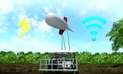 Công nghệ phát Internet bằng khí cầu trôi nổi trên không