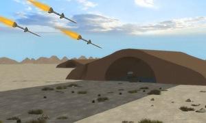Diễn biến trận không kích sân bay quân sự Syria