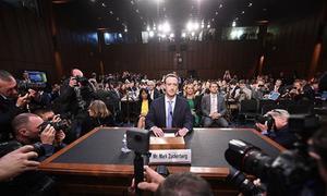 Nghị sĩ Mỹ hỏi ông chủ Facebook 'tối qua ngủ ở khách sạn nào'