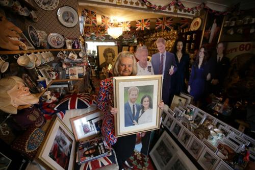 Căn phòng chứa bộ sưu tập của bà Tyler. Ảnh: AFP.