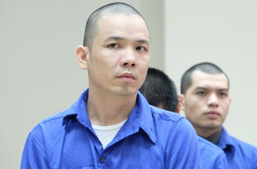 Nguyễn Văn Tình tại phiên tòa phúc thẩm.
