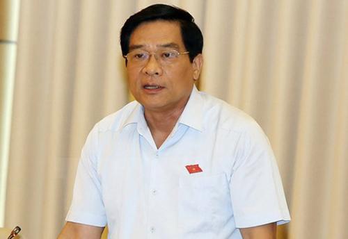 Chủ tịch Hội đồng dân tộc Hà Ngọc Chiến. Ảnh: QH
