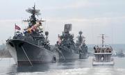 Điều 10 tàu chiến rời cảng Syria, Nga có thể đang nắn gân Mỹ