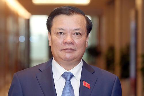 Bộ trưởng Tài chính Đinh Tiến Dũng. Ảnh: Ngọc Thắng