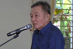Đại gia nước đá Nguyễn Hoàng Năm bị tuyên phạt hai năm sáu tháng tù. Ảnh: Cửu Long