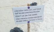 Bạn thấy sao khi má»t bãi tắm Phú Quá»c cắm biá»n cấm nằm trên cát?