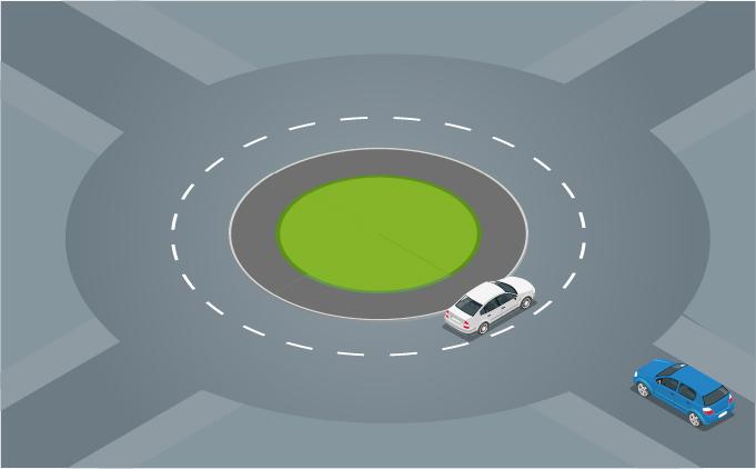 Những nguyên tắc lái xe qua vòng xuyến theo luật Việt Nam