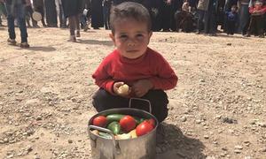 Trẻ Syria sống dưới hầm nhiều ngày để tránh không kích