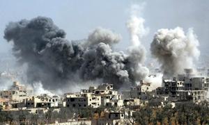 Thế cạnh tranh của các ông lớn trên chiến trường Syria
