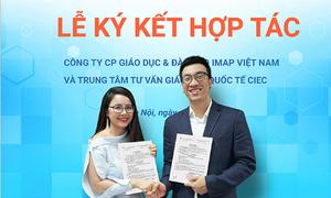 IMAP hợp tác tư vấn du học với trung tâm thuộc Bộ Giáo dục