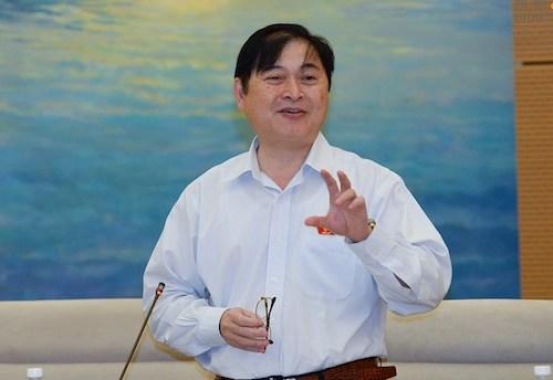 Chủ nhiệm Ủy ban Khoa học Công nghệ và Môi trường Phan Xuân Dũng. Ảnh: PV