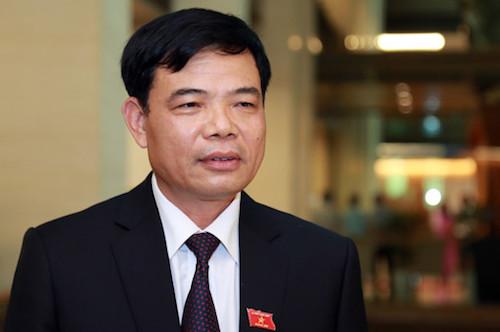 Bộ trưởng Nông nghiệp và phát triển nông thôn Nguyễn Xuân Cường. Ảnh: TQ