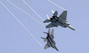 Tiêm kích F-15 Israel phóng mồi bẫy khiến dân tưởng nổ ra chiến tranh