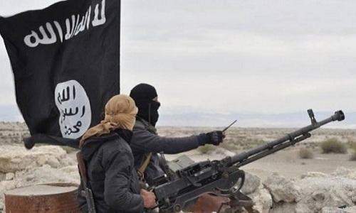 Phiến quân Nhà nước Hồi giáo (IS) tự xưng ở Syria. Ảnh: Almasdar News.