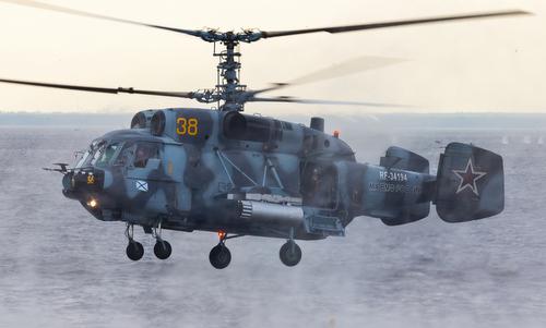 Một trực thăng Ka-29 của hải quân Nga. Ảnh: Wikipedia.