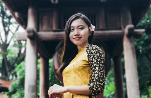 Nguyễn Ngọc Phương Linh trúng tuyển hai đại học Mỹ với tổng giá trị học bổng lên tới hơn 10 tỷ đồng. Ảnh: NVCC