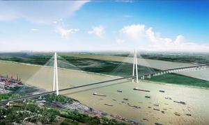 Cây cầu có tháp hình chữ A cao nhất thế giới ở Trung Quốc