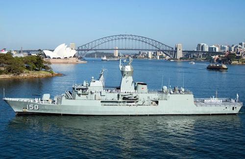 Tàu HMAS ANZAC. Ảnh:Hải quân Australia