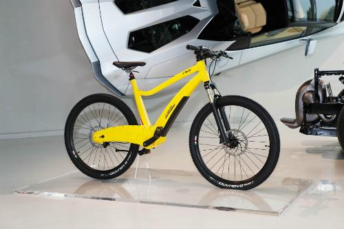 Xe đạp điện của Lamborghini bán ra tháng 5. Ảnh: Autoevolution.