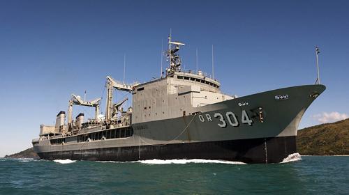 Ba tàu Hải quân Hoàng gia Australia sắp cập cảng Sài Gòn