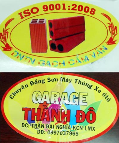 Logo xe vua Thới, Vânbán cho các tài xế. Ảnh: H. P.