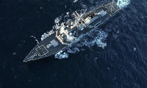 Chiến hạm Nga theo dõi tàu khu trục Mỹ phóng tên lửa vào Syria