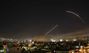 Syria nói không nao núng trước cuộc không kích của phương Tây