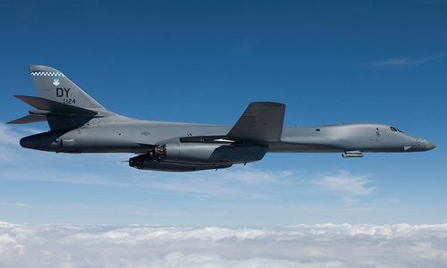 Oanh tạc cơ B-1B Lancer. Ảnh: USAF.