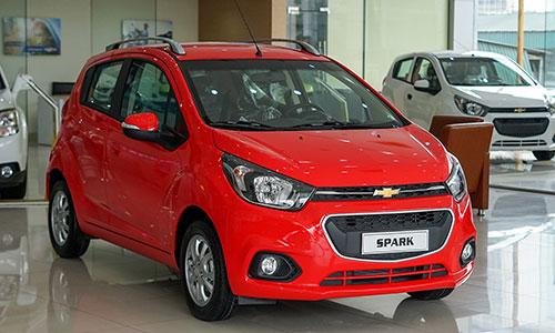 Chevrolet Spark LT mới, giá gần 390 triệu đồng tại Việt Nam. Ảnh: Lương Dũng.