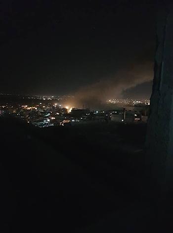 Người dân Syria thấy hàng chục tên lửa bay trên đầu