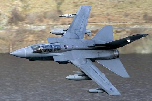 Cường kích Panavia Tornado GR4 của không quân Anh. Ảnh: RAF.